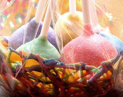 Birds Nest Cake Pop Gift