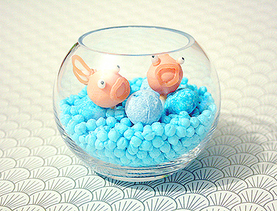 Small Goldfish Bowl Candy Gift