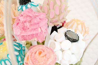 Flower Lollipops