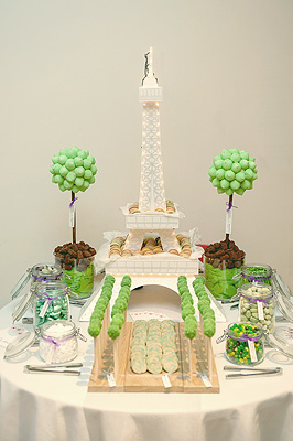 Paris Theme Sweet Table