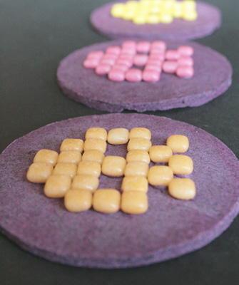 Space Invaders Chocolate Discs