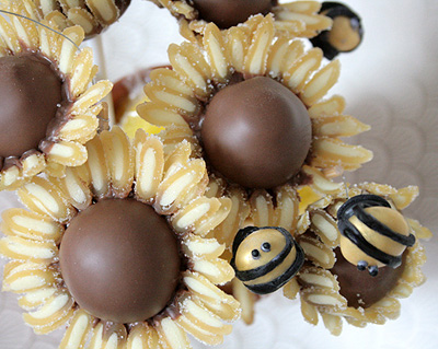 Sunflower & Bees Candy Gift