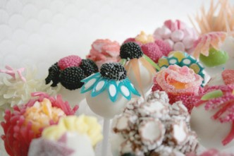 Candy Flower Lollipops