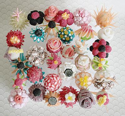 Candy Flower Lollipops